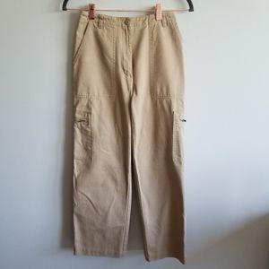 Lauren Ralph Lauren Pants & Jumpsuits - Lauren Ralph Lauren Petite Cargo Khaki Pants